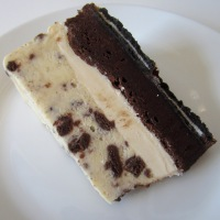 Oreo Brownie Ice Cream Cake